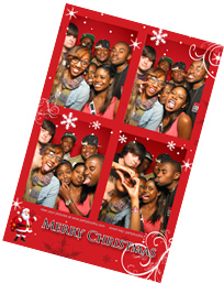 Holiday Photo Booth Rental Photo