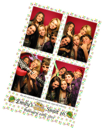 Sweet 16 Photo Booth Photo